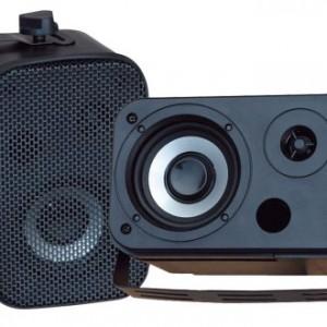 Pyle Home PDWR40B 5.25-Inch Indoor/Outdoor Waterproof Speakers (Black)