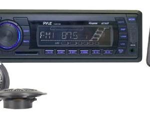 Pyle In-Dash Marine AM/FM PLL Tuning Radio with USB/SD/MMC Reader