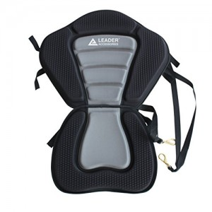 Leader Accessories Black/gray Deluxe Kayak Seat