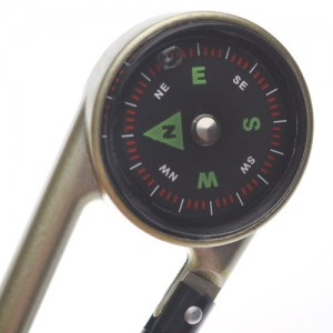 (Price/200 Pcs)Aluminum Carabiner Style Compasses, Wholesale Lot
