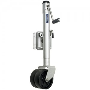 1 - Fulton Dual Wheel 1,500 lbs. Bolt-Thru Swivel Jack