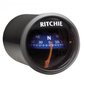 1 - Ritchie X-21BU RitchieSport Compass - Dash Mount - Black/Blue