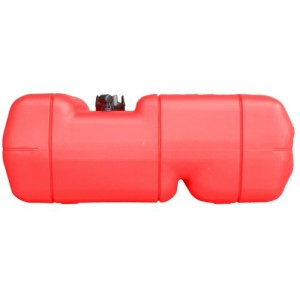 Marine 6 Gallon Reinforced Portable Fuel Gas Tank W/gauge for Boat - Five Oceans
