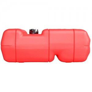 Kit with Marine 6 Gallon Reinforced Portable Fuel Gas Tank W/gauge and Fuel line with primer for Boat - Five Oceans ...