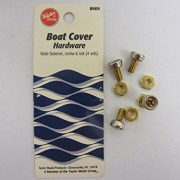 4 - Pk. Taylor Made Dot - Type Male Snap with Machined Screw