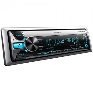 Kenwood KMR-D562BT Marine CD/MP3 Player - 88 W RMS - iPod/iPhone Compatible - Single DIN KMRD562BT