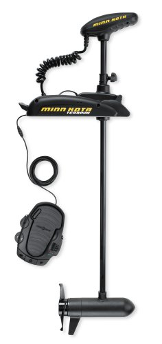 "Minn Kota Terrova 55  Bow-Mount Trolling Motor with Autopilot (55-lb Thrust, 54"" Shaft)"