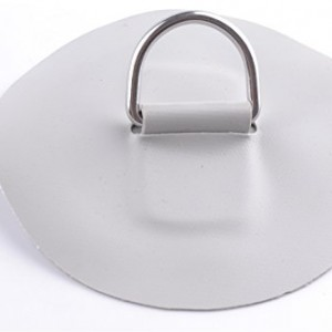 4 x Stainless steel D-ring Pad Patch For PVC Inflatable Boat Raft Rib Kayak