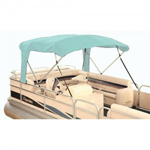 Atwood (370AQ) Buggy-Style Bimini Top, Aqua