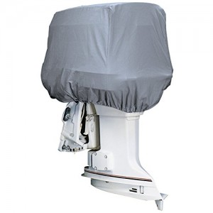 Attwood Road Ready™ Cotton Heavy-Duty Canvas Cover f/Outboard Motor Hood 25-50HP