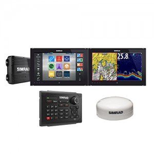 000-11485-001 Simrad NSO EVO2 Dual 16 in. Bundle With OP40