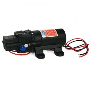 SEAFLO NEW 12v Water Pressure Diaphragm Pump 4.3 L/min 1.2 GPM 35 PSI - Caravan/rv/boat/marine