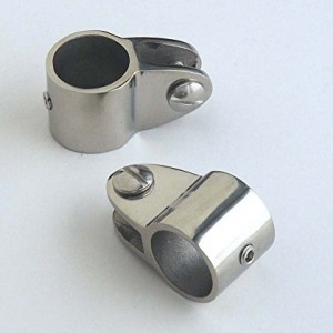 "Bimini Top Jaw Slide - 7/8"" Hardware Fittings- Marine 316 Stainless Steel-2 Each (Pair)"
