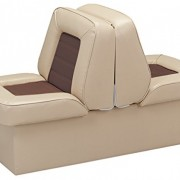 "Wise Bucket Style 10"" Base Runabout Lounge Seat"