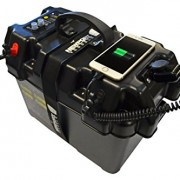 Newport Vessels Trolling Motor Smart Battery Box Power Center black