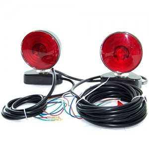 12 Volts 3 In 1 Magnetic Tow Truck Lights Kit Trailer Towing 12v Light