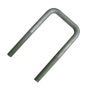 3/8 U-bolt Square Galvanized 1-5/8 X 5-5/8 Nuts and Washers Included