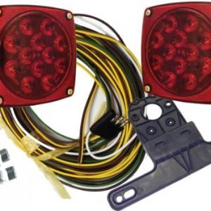 "1 X Universal LED Submersible/Marine & Baot Trailer Light Kit for Under 80"" Trailers"
