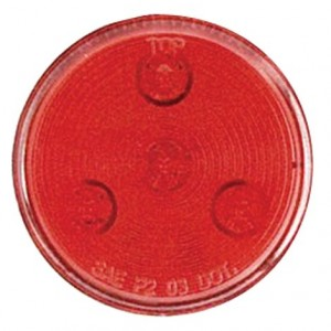 """2-1/2"""" LED MARKER/CLEARANCE LIGHT RED, Manufacturer: OPTRONICS, Manufacturer Part Number: MCL-57RK RED-AD, Stock Photo - Actual parts may vary."""