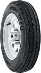 Americana Tire & Wheel With Tire 4 Lugs With 480x8-B Galvanized 30010