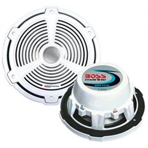 "Boss Mr105 1000w 10"" Marine Audio Subwoofer Sub 1000 Watt"