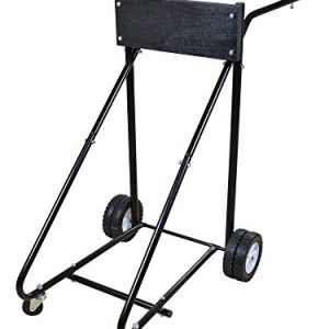 TMS® 315 Lb Outboard Boat Motor Stand Carrier Cart Dolly Storage Pro Heavy Duty New