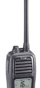 Icom M24 Handheld Marine VHF Radio with 5-Watts Power