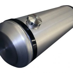10x30 End Fill Spun Aluminum Gas Tank - with Internal Baffle 10 Gallons - 1/4 NPT