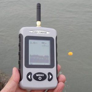 100M FFW718 Wireless Fish Finder Portable Sonar Echo Sounder