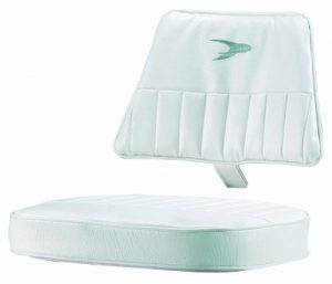 Wise 8WD013-2-710 Rotomolded Standard Helm Chair Cushions, White