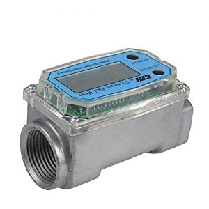 1 Inch Electronic Turbine Diesel Gasoline Kerosene Fuel Flow Meter