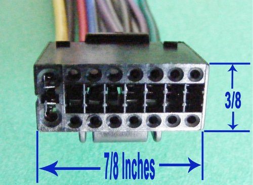 49f795cbdab4 1 x kenwood car stereo head unit replacement wiring harness plug kdc mp538u wiring diagram at mifinder.co