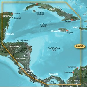 BlueChart g2 Southwest Caribbean - microSD/SD card