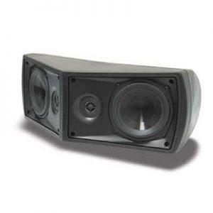 SpeakerCraft WS940 Weather Craft Indoor / Outdoor Speakers, Black, 2 x 13,3 cm Polypropylene Cone Woofer