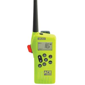 Acr Electronics Sr203 Vhf Gmdss Survival Radio