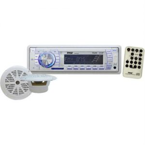 200-Watt Marine Receiver with 6 1/2 Dual Speakers