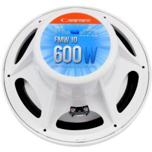 Cadence FMW10W 10 Marine/Boat Subwoofer Sub 600 Watt/300w RMS Waterproof White
