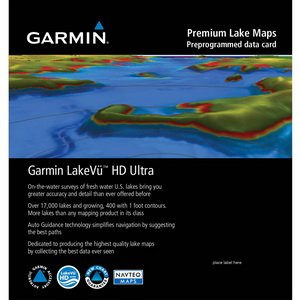 Garmin LakeVu HD Ultra Marine Map 010-C1090-00