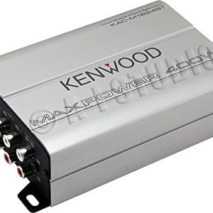 Kenwood Compact Automotive/Marine Amplifier - 180 W RMS - 400 W PMPO - 4 Channel - Class D KAC-M1824BT