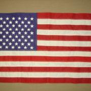 Annin Bulldog Cotton Outdoor U.S Flag (3 x 5-Feet Sewn)