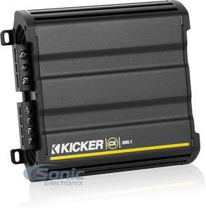 Kicker 12CX3001 600 Watt MONO Class D Power Car Audio Amplifier Amp CX300.1