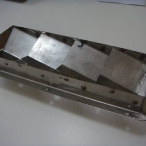 "Amarine-made Boat Marine Stainless Steel Vent - 4 Louver 10-2/5"" X 4-1/3""--07727s4"