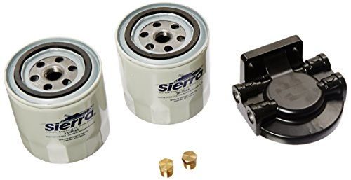 Sierra International 18-7983-2 10 Micron Marine Fuel Filter Kit for Fuel Injected Engine