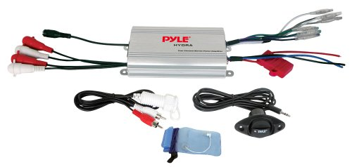 Pyle 4-Channel Waterproof MP3/iPod Marine Power Amplifier