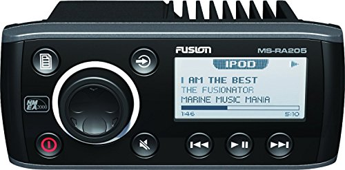 Fusion Marine AM/FM/AUX/USB/Weather Band and VHF Receiver/iPod/iPhone/SiriusXM Ready Marine Stereo