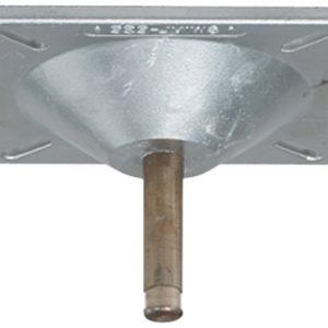 "Attwood Corporation 1063 Lock'N-Pin 3/4"" Pin Seat Mount"