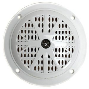 "4) PYLE PLMR41W 4"" 100W Marine Waterproof Boat/Car Audio Stereo Speakers White"