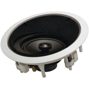 1 - ARCHITECH 6.5quot;, 2-Way Round Angled In-Ceiling LCR Loudspeaker, 50W - 100W per channel, 6.5quot; poly woofers with butyl rubber surrounds amp;, AP-615 LCRS