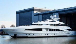 Heesen Launches Motoryacht White