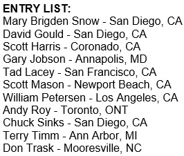 Masters line-up for San Diego showdown
